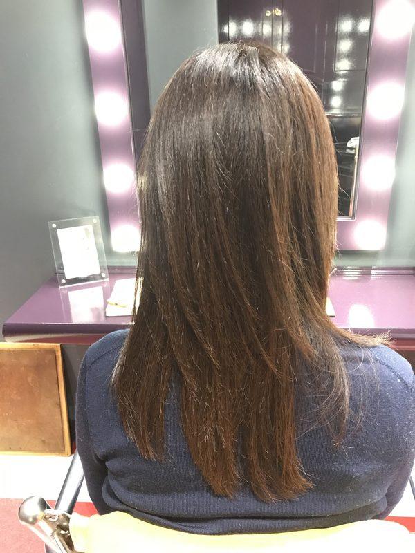 桜新町〜サロントリートメントでクセ毛を50%カット✨